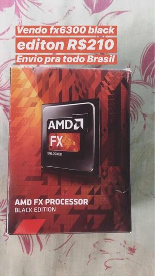 Processador Fx6300 Black Edition Unlocked Seminovo