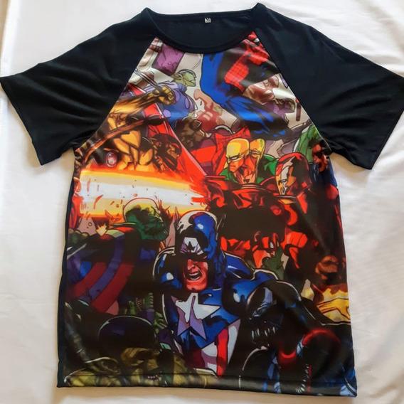 Camisetas Masculina Filmes, Capitão América, Séries