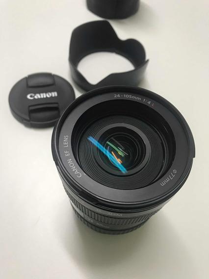 Lente Canon Ef 24-105 Mm 1:4 L Com Para Sol