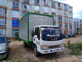 Vendo Y/o Cambio Furgon Jac 1045 De 3.3 Ton, Modelo 2013