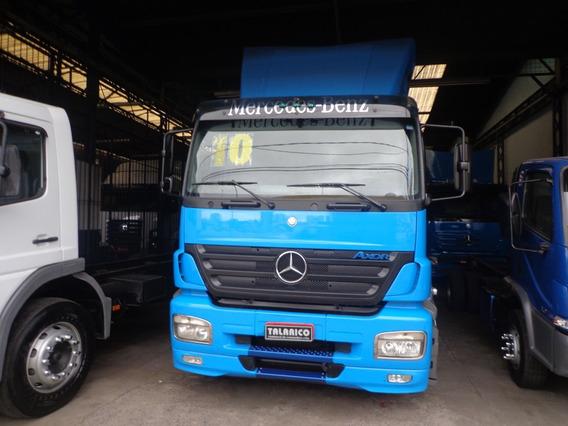 Caminhão M.benz Axor 1933 Ano 2010/10 Azul Nova