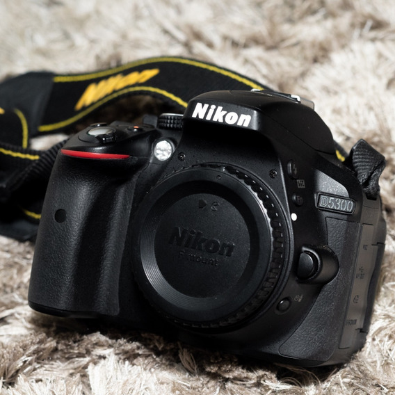 Câmera Nikon D5300 (só Corpo) 19.000 Cliques