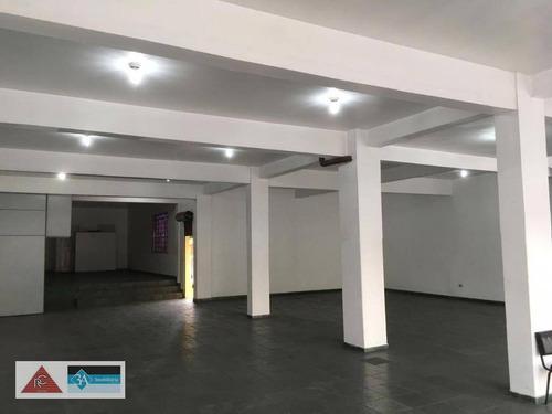Salão Para Alugar, 280 M² Por R$ 13.000/mês - Vila Formosa - São Paulo/sp - Sl0199