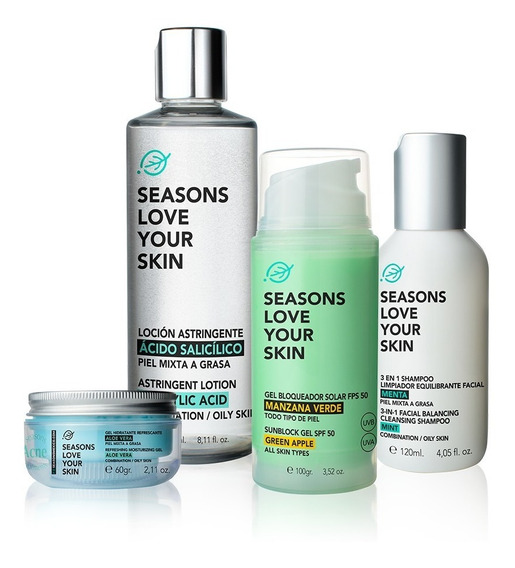 Seasons Acne Treatments Package