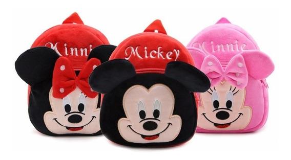 Mini Mochila Infantil Personagens Escolar Mickey Superman