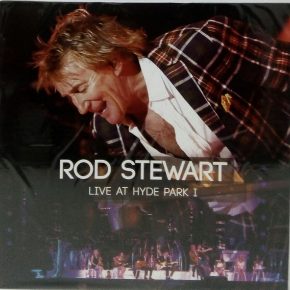 Vinilo Rod Stewart Llive At Hyde Park 1 Lp