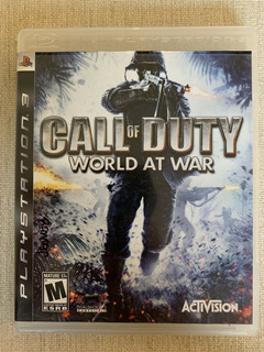 Call Of Duty World At War Ps3 Oferta