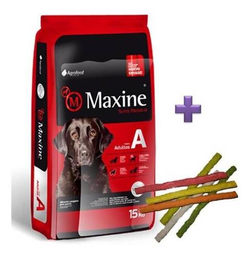 Imagen 1 de 5 de Maxine Perro Adulto 24kg Mas Snacks Super Premium Y Envio