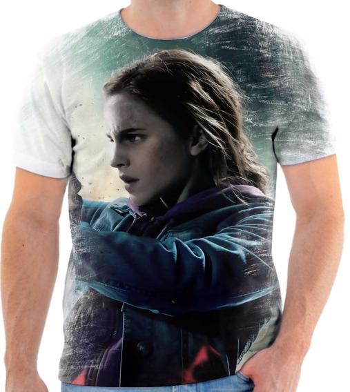 Camisa Camiseta Personalizada Harry Potter Hermione