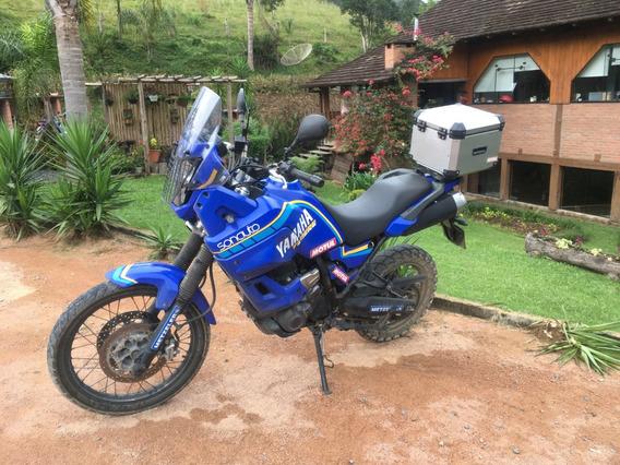 Vendo Moto Yamaha Xt 660z Ténéré Plotada Coisa Mais Linda