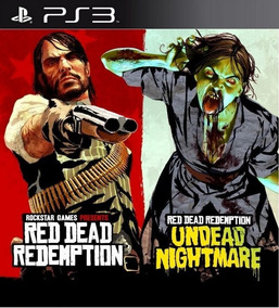 Red Dead Redemption E Undead Nightmare Ps3 Midia Digital Psn