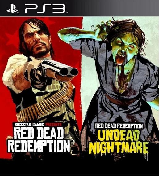 Conjunto 2 Jogos Red Dead Ps3 Psn Envjo Ja Promoção É Aqui!