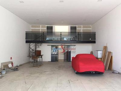 Salão Comercial Para Locação, Jardim Anália Franco, São Paulo. - Sl0052