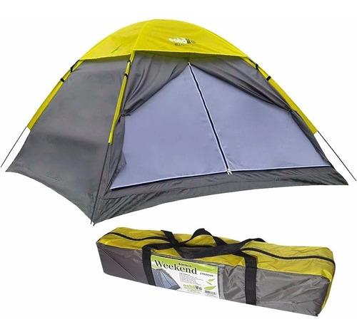 Imagem 1 de 6 de Barraca De Acampamento 2 Pessoas Camping Weekend Echolife
