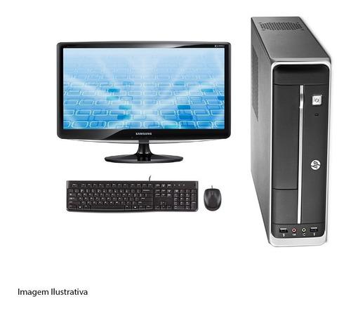 Imagem 1 de 5 de Computador Hp 402 G1 I5 4° Geração 4gb 240ssd Monitor 17