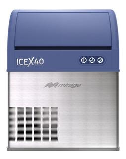 Maquina Fabrica De Hielo 40kg/dia Marca Mirage Icex40