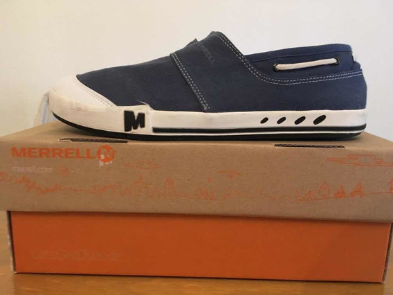 Zapatillas Merrell Nuguet Azul Talle 11us