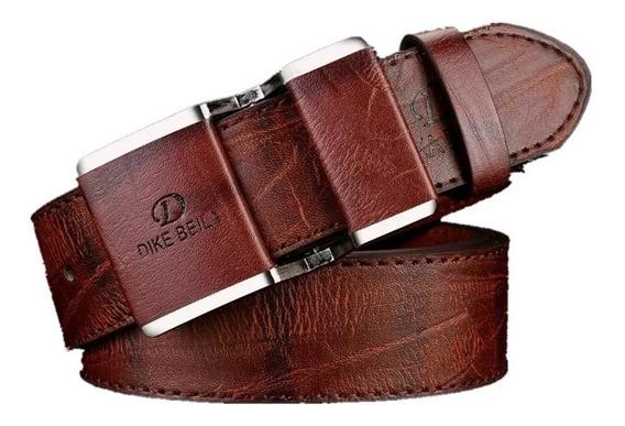 Cinturón Casual De Hombre Con Hebilla Lisa.