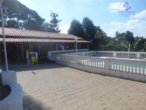 Chácara Residencial À Venda, Chácaras São Bento, Valinhos. - Ch0096