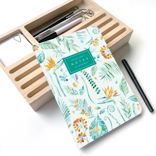 Cuaderno Rayado Strelitzia A5 - Mil Letterpress