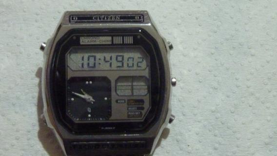 Citizen Digi Ana Alarm - Vintage Anos 80 - 100% Funcionando