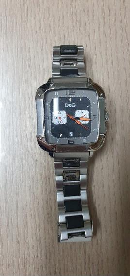 Relógio De Luxo Dolce & Gabbana Aço Inoxidável Usado