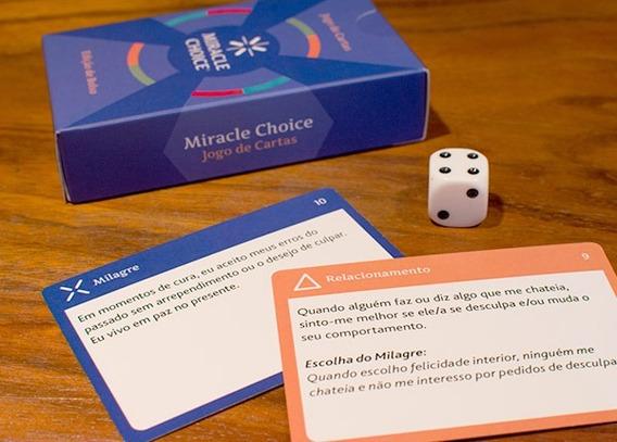 Ucem - Edição Jogo De Cartas Miracle Choice Edição De Bolso