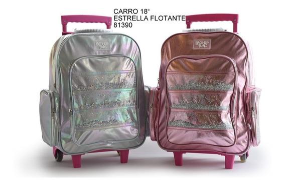 Mochila C/ Carro Back Up Fun Estrellitas Flotantes 81390