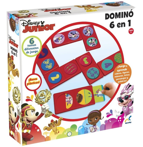 Domino 6 En 1 Disney Jr.