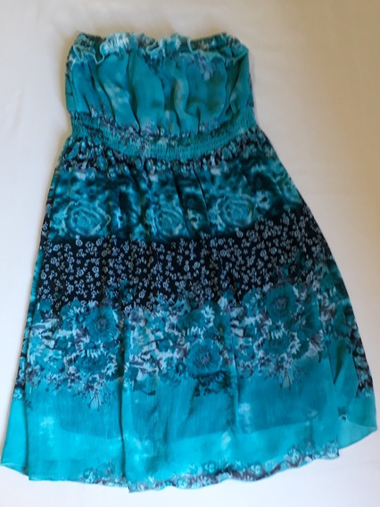 Vestido Player Azul