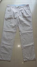 Pantalon Marca Kevingston Talle 44 Impecable Beige