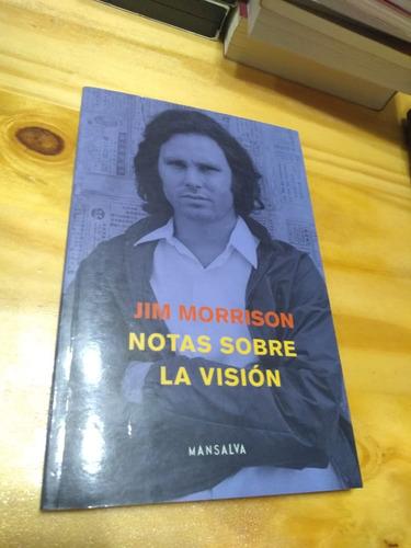 Notas Sobre La Visión - Morrison - Mansalva