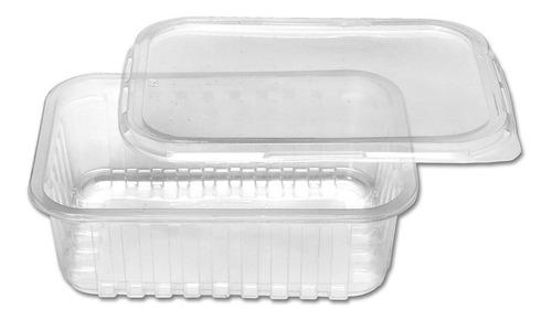 Imagem 1 de 7 de 25unid Embalagem Microondas E Freezer 500ml Marmita Fitness