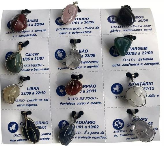 Colares Cordão Pedras Signos Significados 2018 Unid. Ref:523