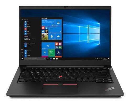 "Imagen 1 de 6 de Notebook Lenovo ThinkPad E14 black 14"", Intel Core i5 10210U  16GB de RAM 256GB SSD, Intel UHD Graphics 1920x1080px Windows 10 Pro"
