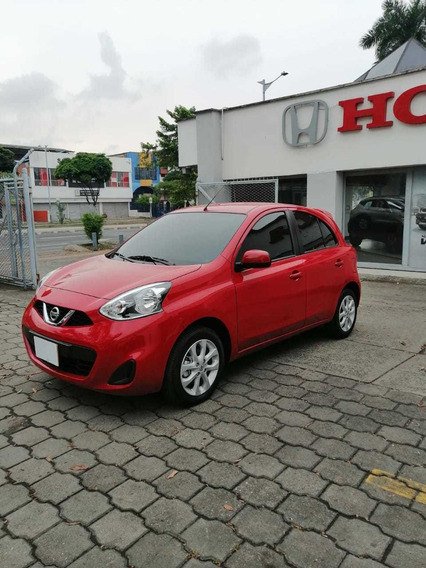 Nissan March Sense Motor 1.6 M 2.020 Rojo