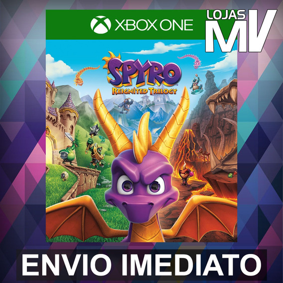 Spyro Reignited Trilogy - Xbox One Código 25 Dígitos