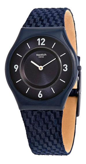 Relógio Swatch Unissex Nylon Azul - Sfn123