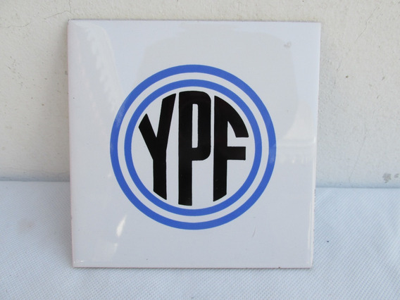 Antiguo Azulejo Ypf Yacimiento Petrolifero No Cartel #l