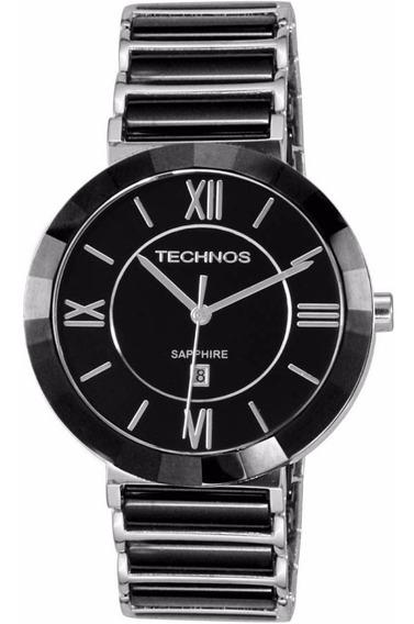 Relógio Technos Elegance Sapphire Cerâmica 2015bx/1p Technos