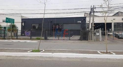 Imagem 1 de 11 de Ref: 13.046 Excelente Galpão Comercial No Bairro Parque Da Mooca, 3000 M² A.c, 3300 M² A.t, 20 Vagas De Garagem. - 13046