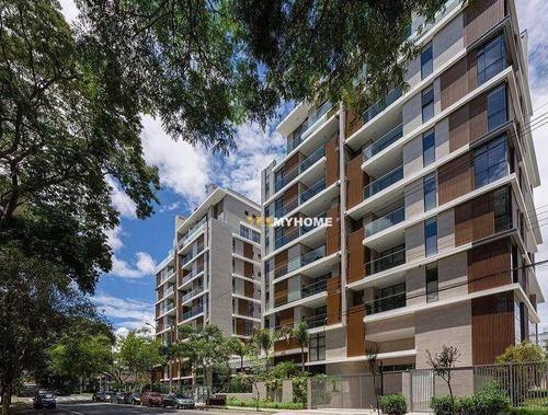 Apartamento Espaçoso, 3 Suítes, Ampla Sacada No Seminário - Ap3195