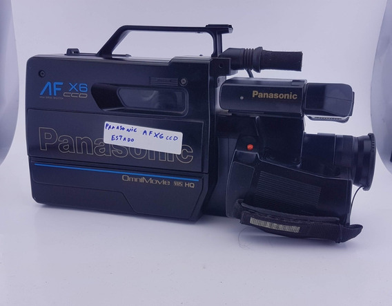 Filmadora Panasonic Af X6 Ccd Omnimovie Vhs (no Estado)