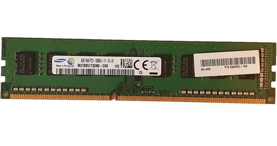 4gb Memoria Samsung Ddr3 1600mhz Pc3 12800u Para Desktop