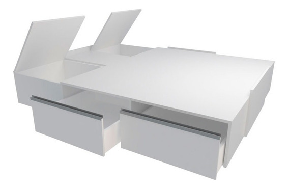 Box Sommier Adaptable Blanco 6423 Tables Cuotas