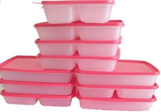 Pack 8 Envases, Viandas, Conservador Alimentos