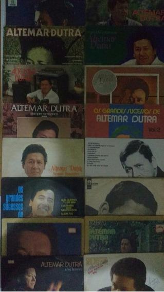 19 Discos De Vinil Altemar Dutra Romântico Lp Frete Grátis