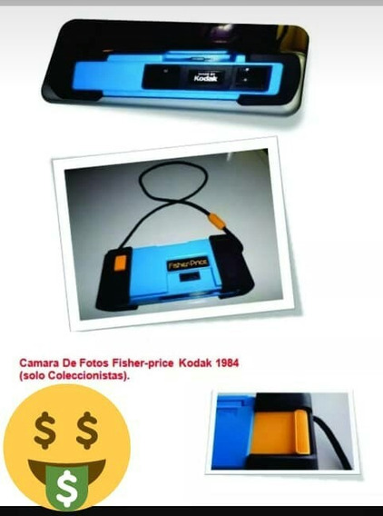 Camara Kodak Azul Fisher Price
