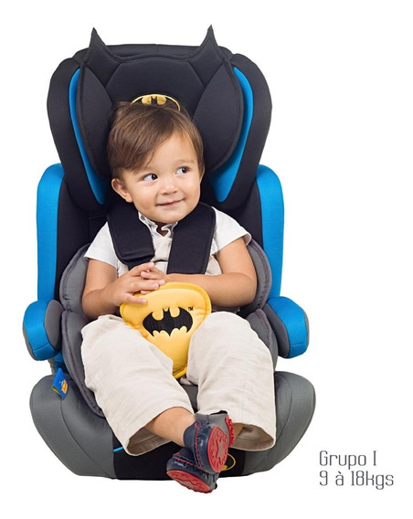 Cadeira Cadeirinha Para Carro Batman Azul Maxi Baby 9 A 36kg