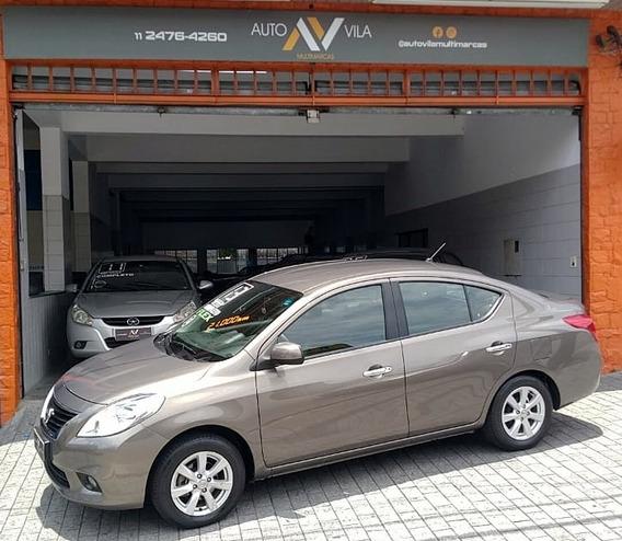 Nissan Versa 2013 1.6 16v Sl Flex 4p